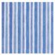 Carmen Stripe Blue Cocktail Napkin
