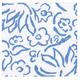 Matisse Blue Cocktail Napkin