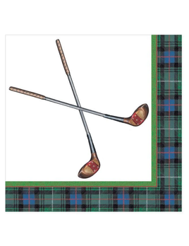 Golfing Cocktail Napkin