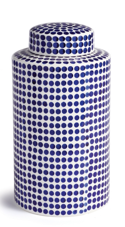 Barclay Butera Dover Dot Jar Small