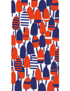 Red White and Buoy Guest Towel