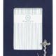 Navy Blue Linen with Anchor Icon 5x7 Frame