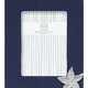 Navy Blue Linen with Starfish Icon 5x7 Frame