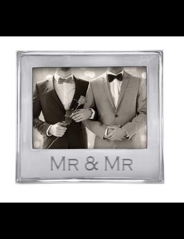 MR. & MR. Signature 5x7 Statement Frame