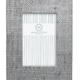 Pale Gray Faux Grasscloth 4x6 Frame