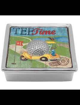 Golf Ball Signature Napkin Box