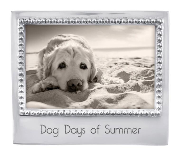 Dog Days of Summer Beaded 4x6 Statement Frame