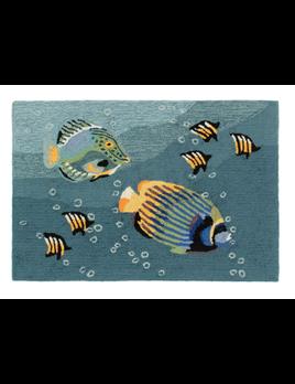Aquarium Ocean Rug 24x36