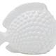"""Ceramic 10.5"""" Fish, White"""