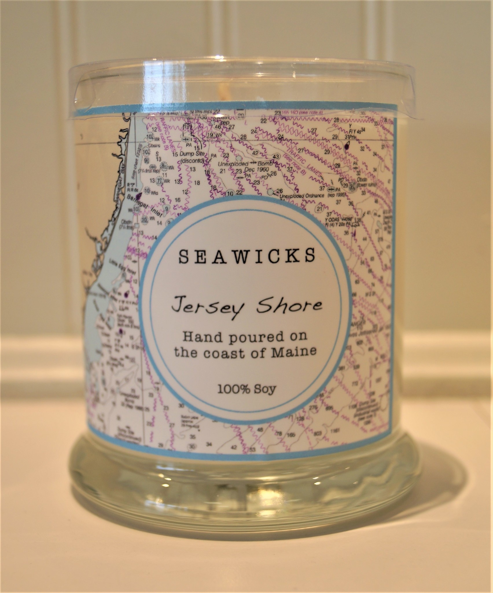Jersey Shore Custom Chart Candle