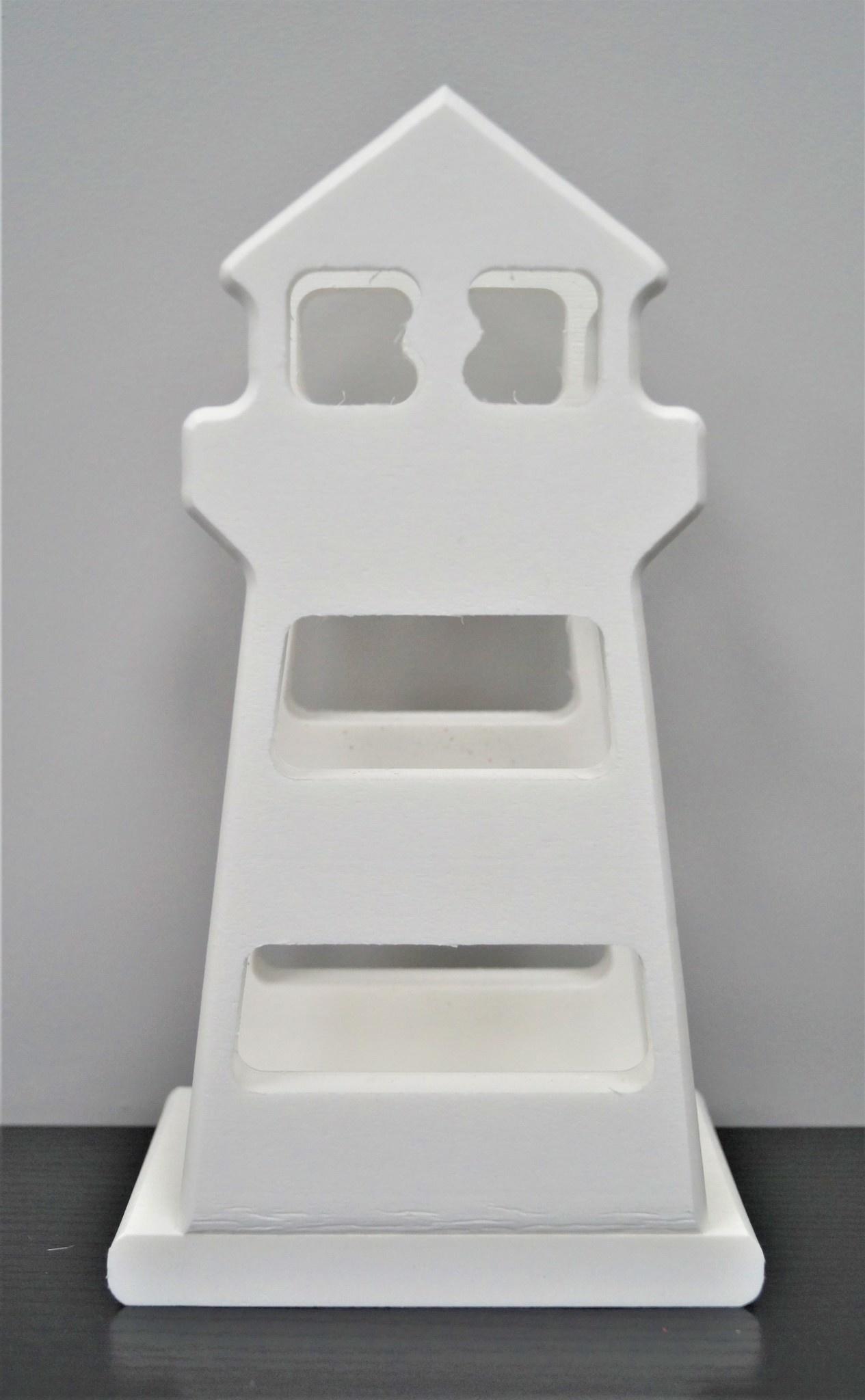 Lighthouse Napkin Holder White