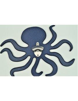 Outdoor Navy Octopus Bottle Opener