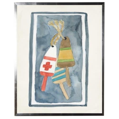 Watercolor Buoy 18x24