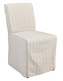 Amaya Upholstered Dining Chair Striped
