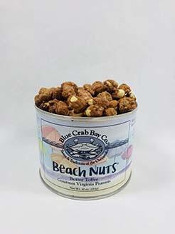 Blue Crab Bay Co. Beach Nuts 10oz Toffee Peanuts