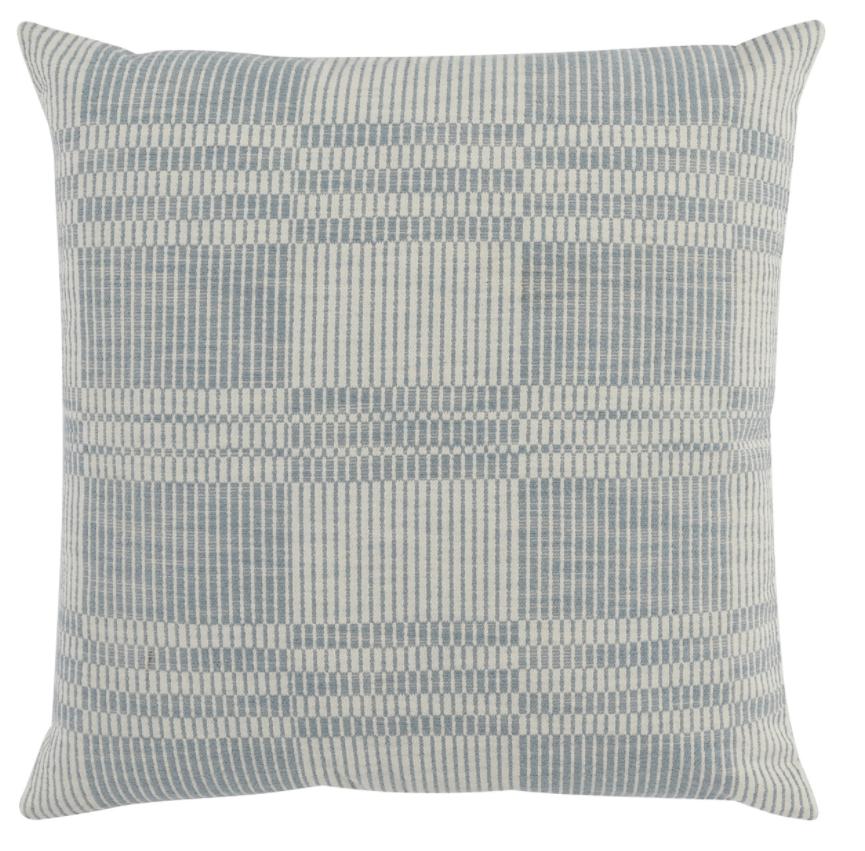 Newton Dust Blue Pillow 22x22