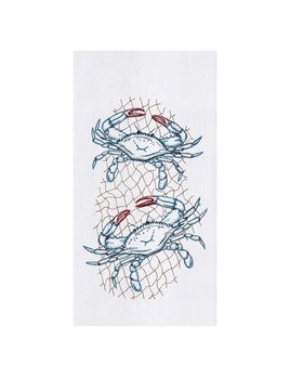 Crab Net Kitchen Towel