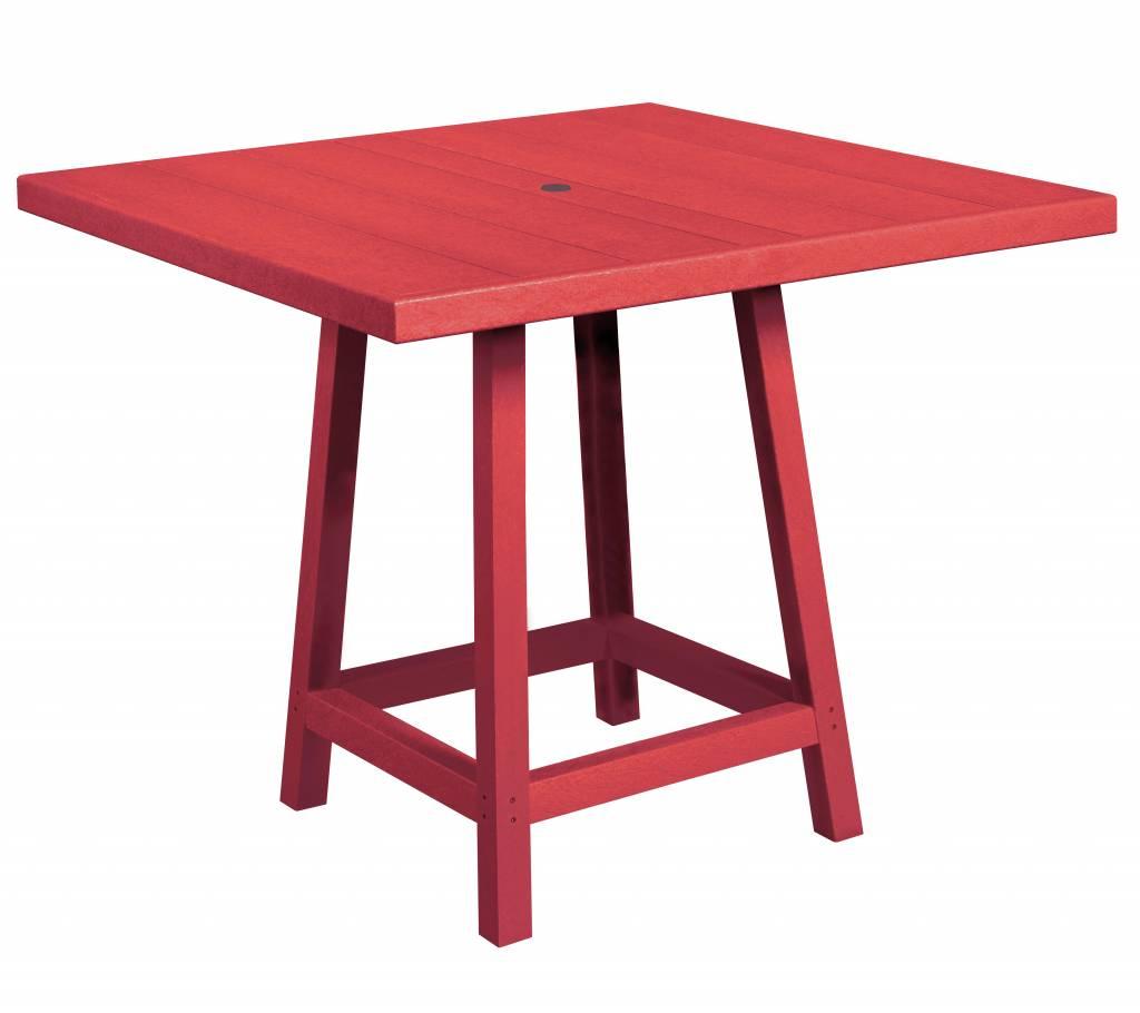40'' Square Pub Table