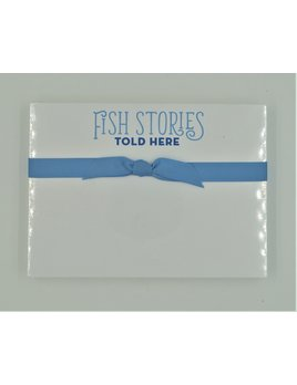 Fish Stories Told Here Slab Pad