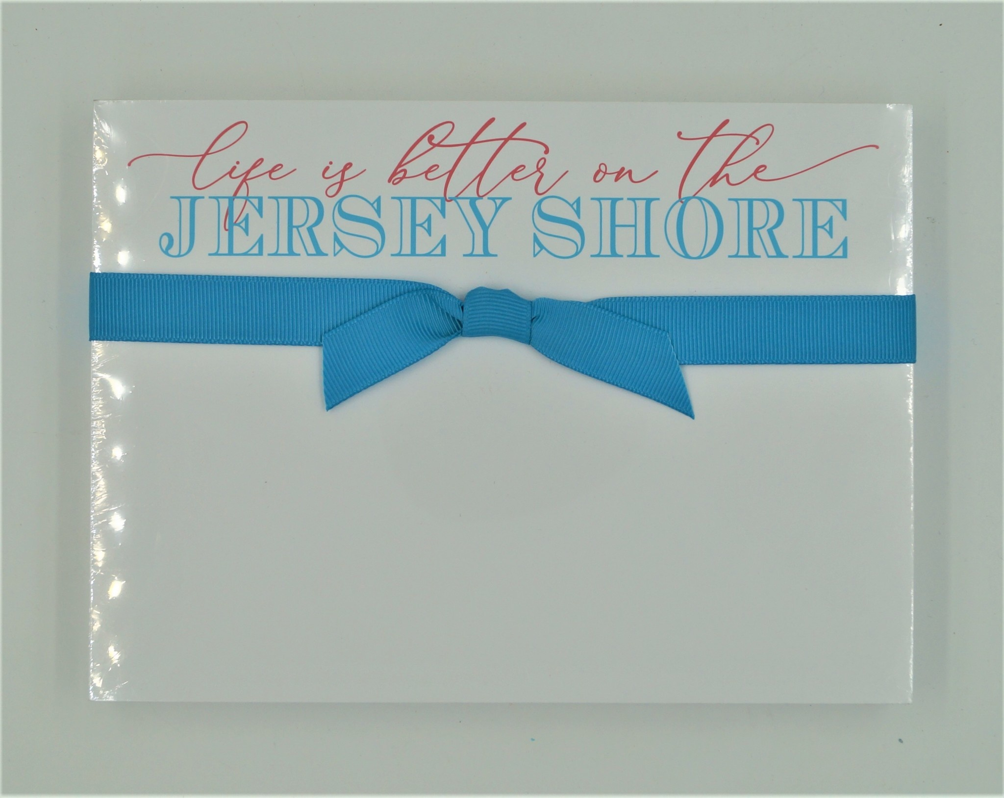 Life is Better on the Jersey Shore Slab Pad