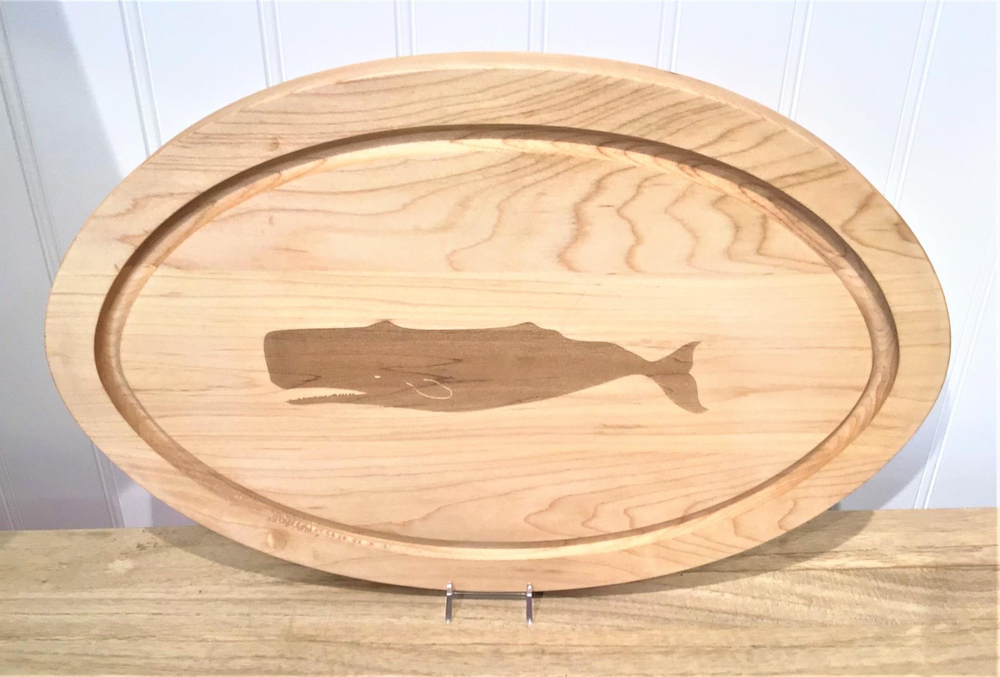 Whale 18x12 Medium Oval Board No Handles