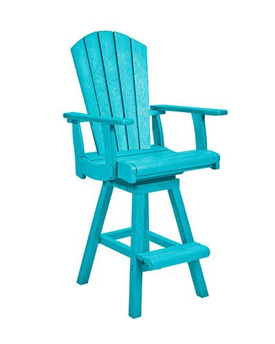 Swivel Pub Arm Chair C25