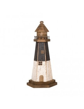 Wooden Lighthouse 15x33cm