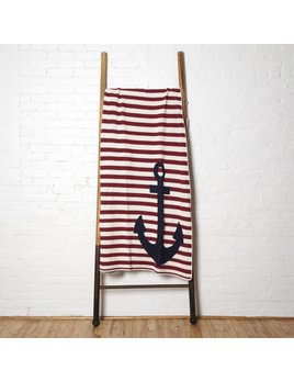 Throw Anchor French Stripe