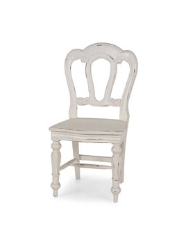 Napoleon Dining Chair w/ Carving on Back