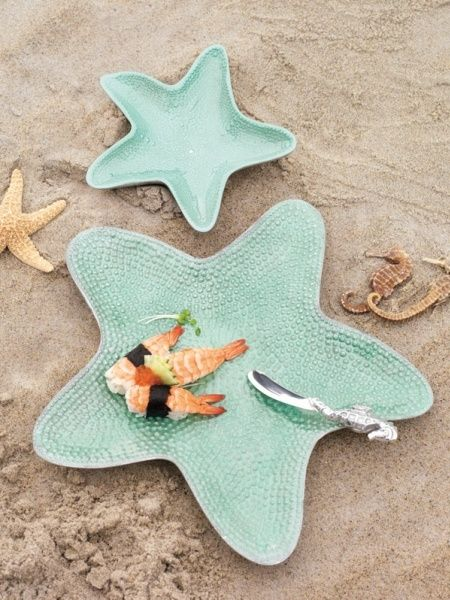 Aqua Starfish Dip Dish