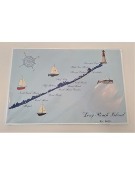LBI Map Paper Placemat Pad Light Blue Background (30)