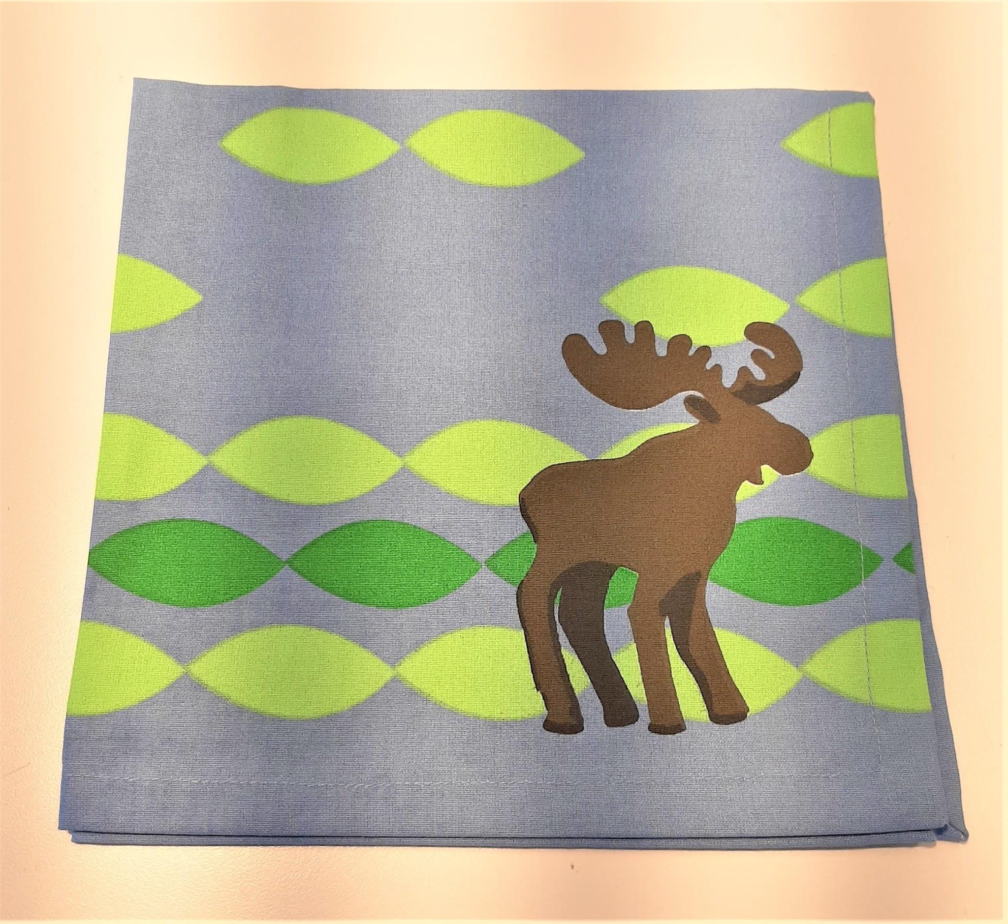 Moose Napkin