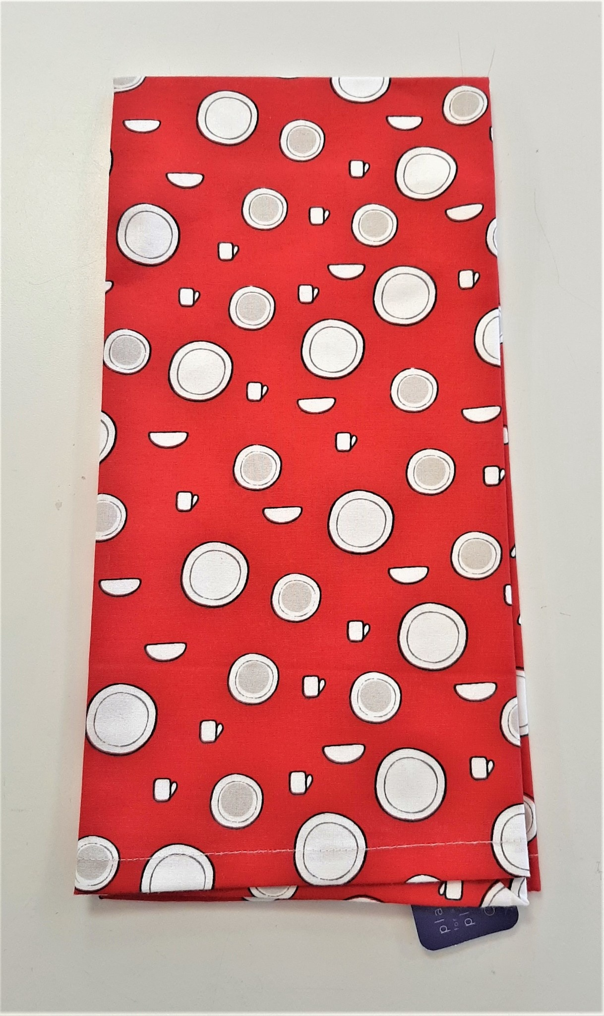 Signature Red Kitchen Towel