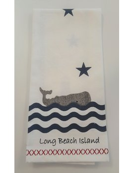 Long Beach Island T Towel