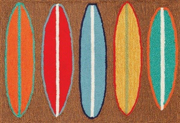 Surfboard Brown 24x60