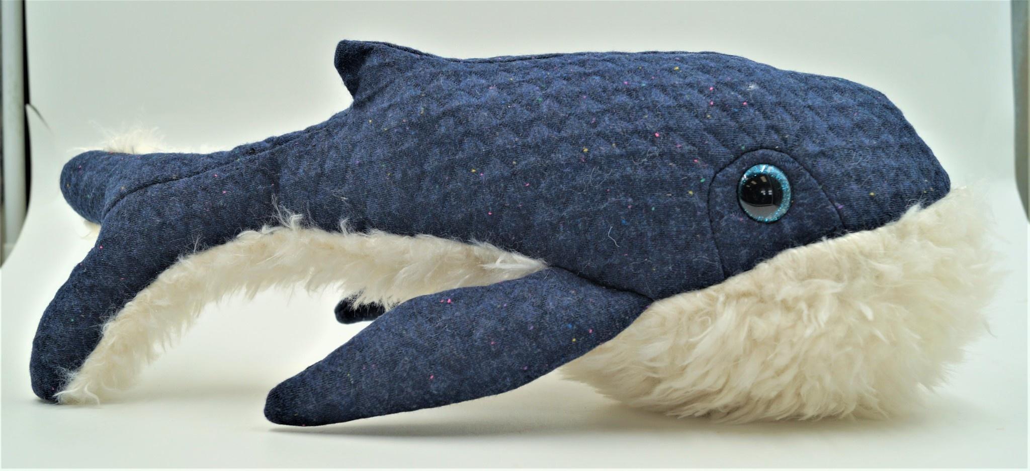 Small Stuffed Whale