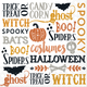 Halloween Words Lunch Napkins