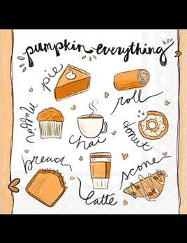 Pumpkin Everything Cocktail Napkins