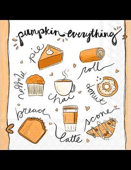 Pumpkin Everything Lunch Napkins