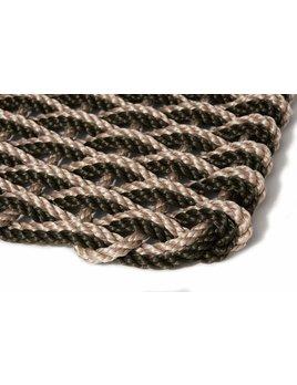 Sand/Black Spruce Doormat 18x30