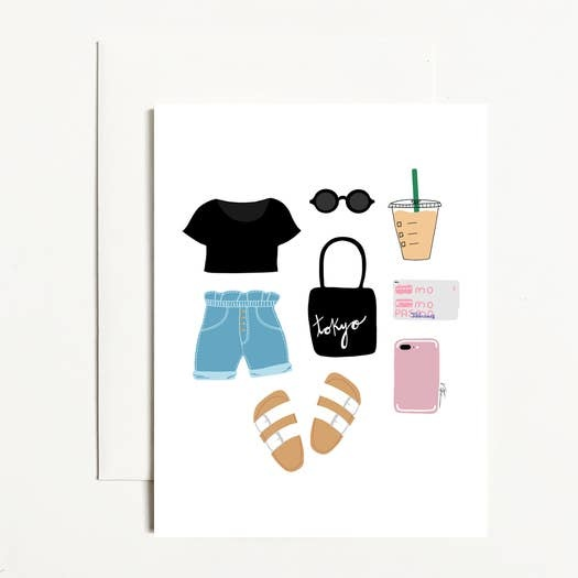 Toykyo Essentials Greeting Cards