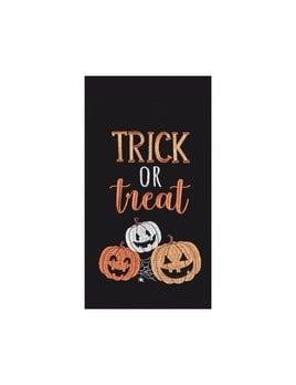 Trick Or Treat Pumpkins Towel