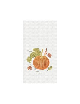 Orange Autumn Kitchen Towel