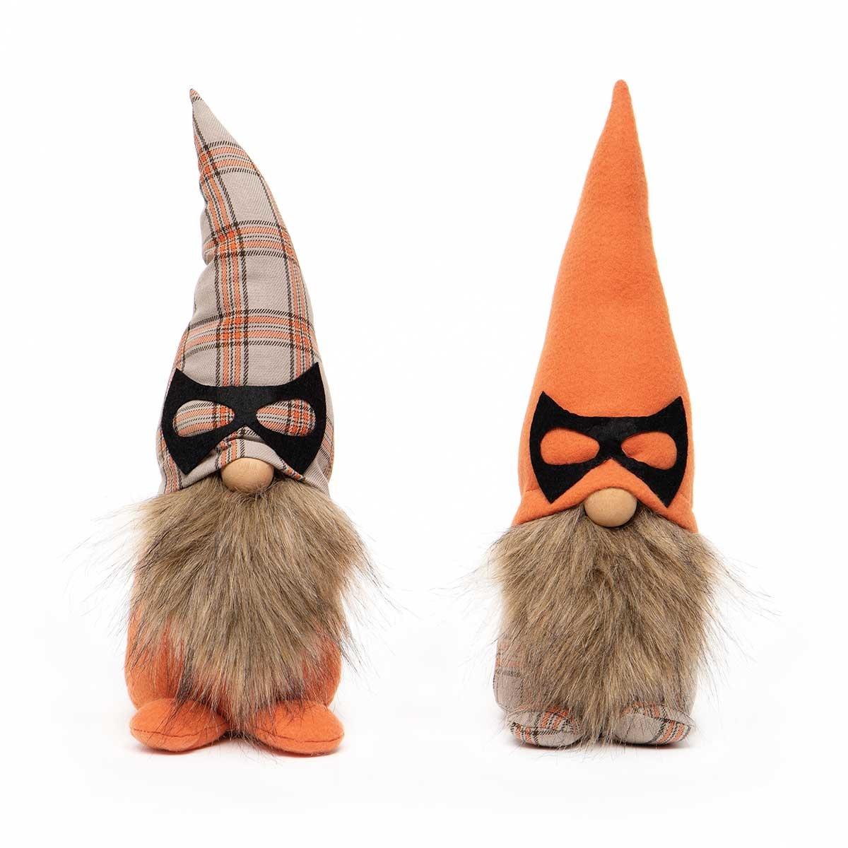 Gnome 13.5 Plaid Mask Hat