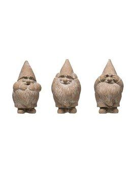 Cement Hear, Speak, See No Evil Gnome, 3 Styles