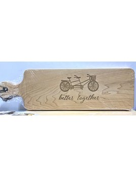Better Together 20x6 Handled Maple Bread Board