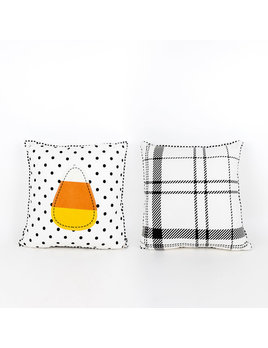 14x14 Reversible Pillow (CANDY CORN) multi