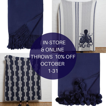 Blankets & Throws - USE CODE THROW10 FOR 10% OFF