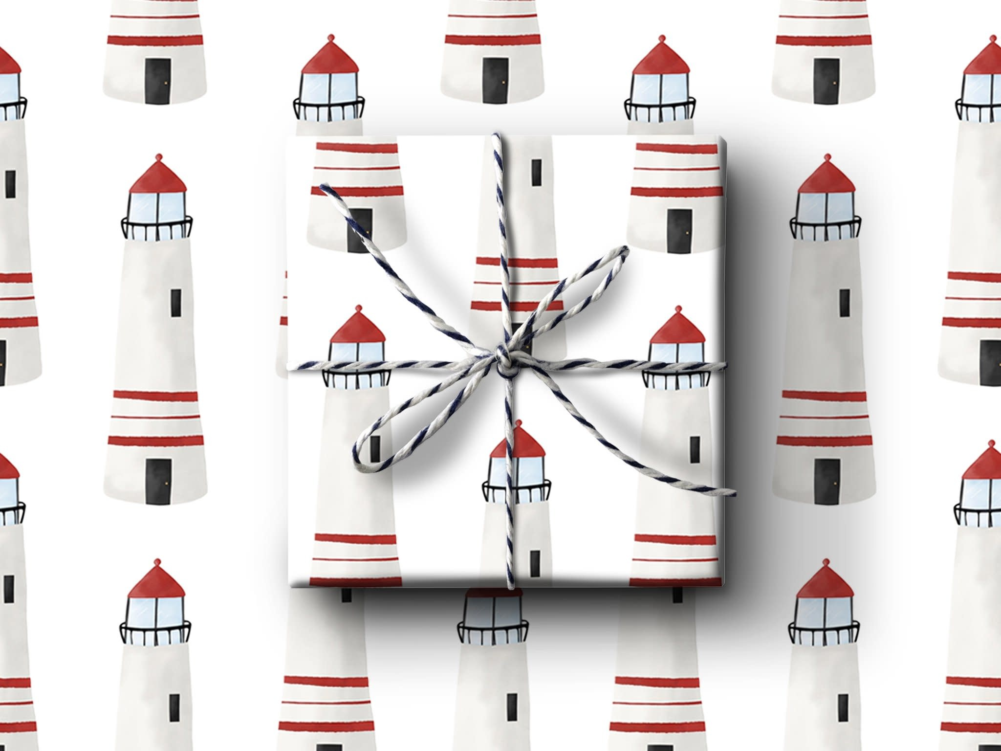 Lighthouse Wrapping Paper