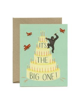 King Kong Cake Card and Envelope